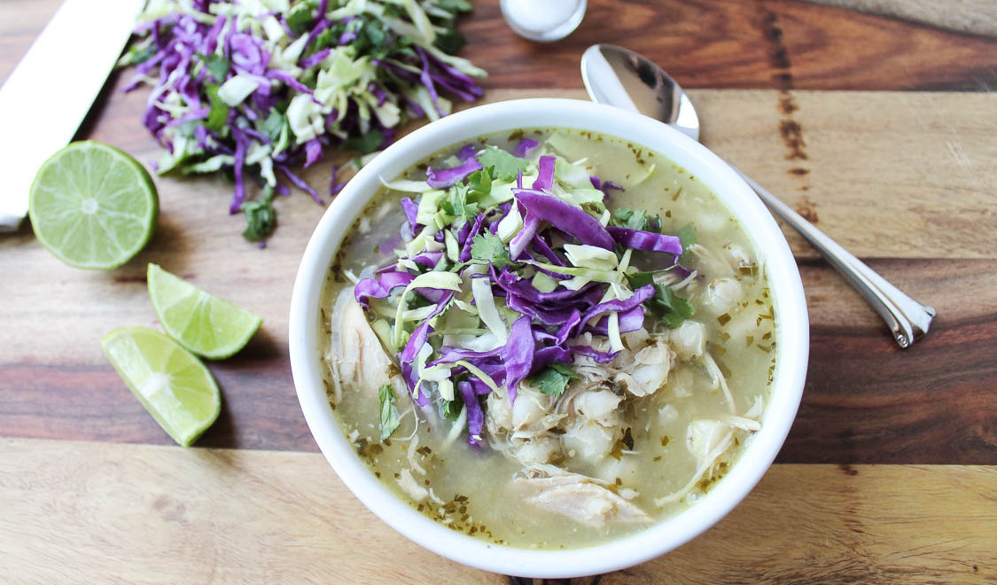 Pozole Verde With Chicken