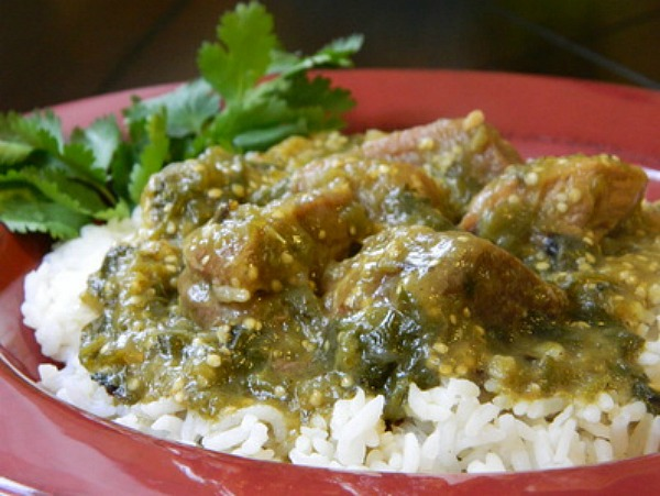 Chile Verde con Carne (Chile Verde With Meat)