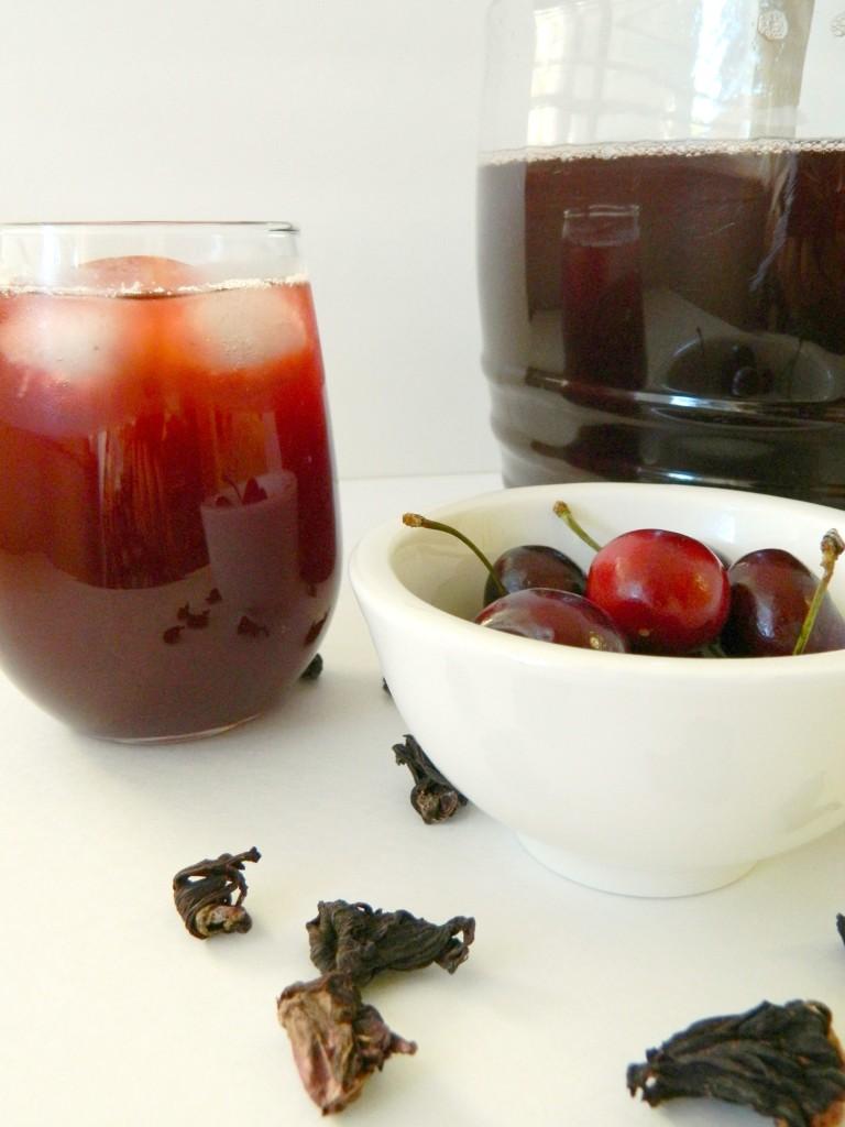 Cherry Hibiscus Juice