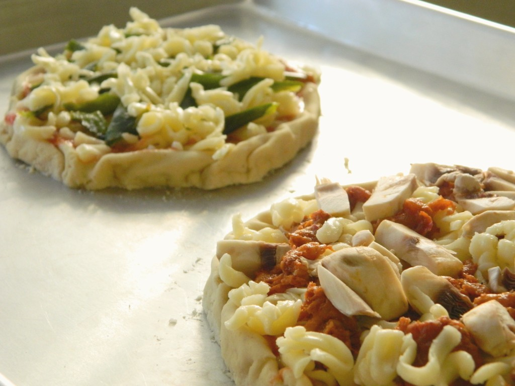 Mexican Pizzas Using Nixtamasa