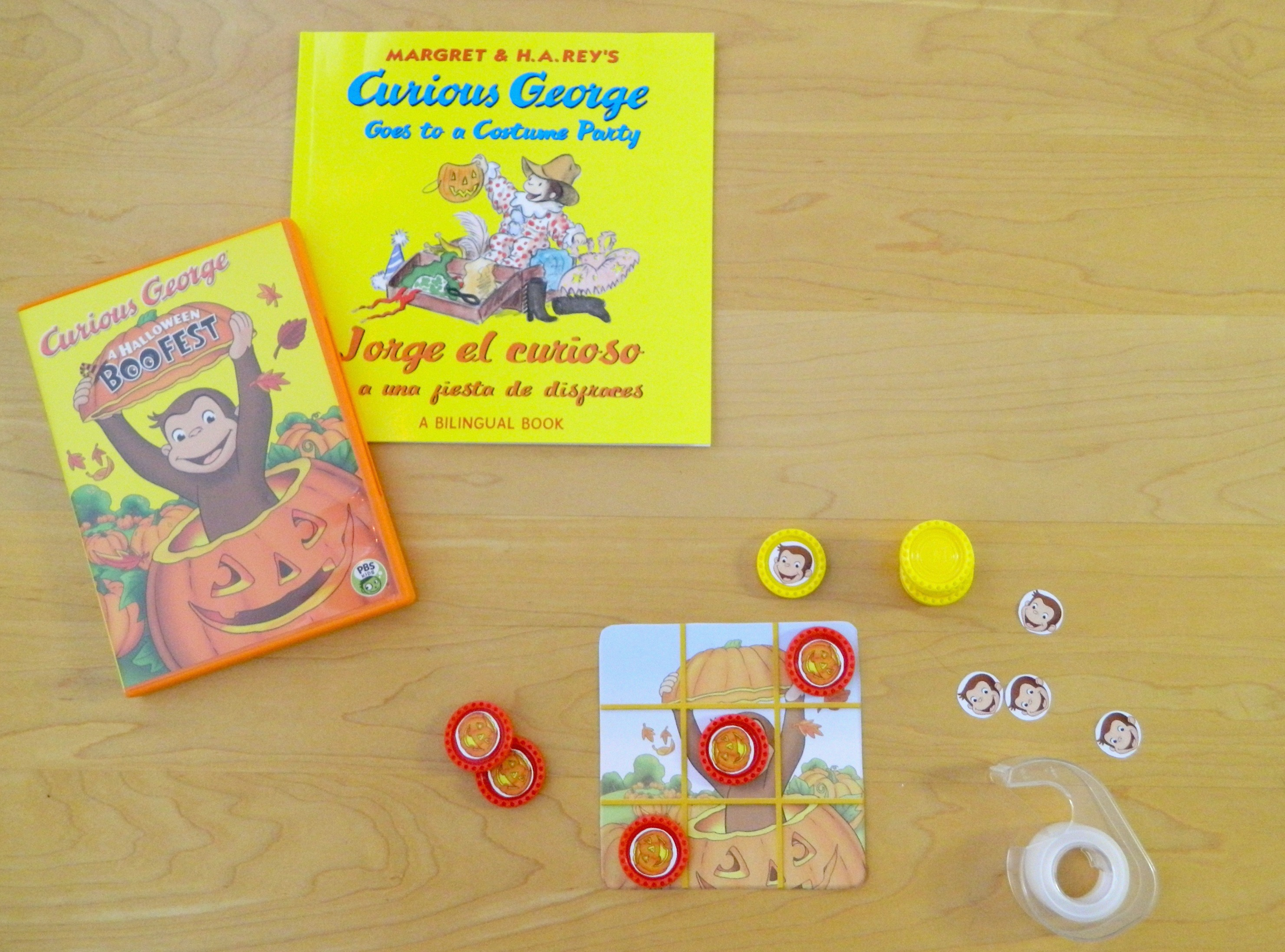 a curious george halloween pbs special premiere - Curious George Halloween Games