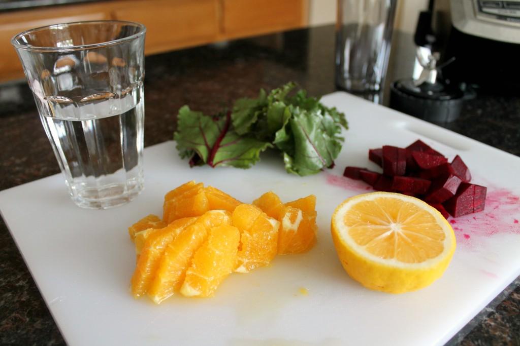 Citrus Beet Cleanser Green Smoothie 1