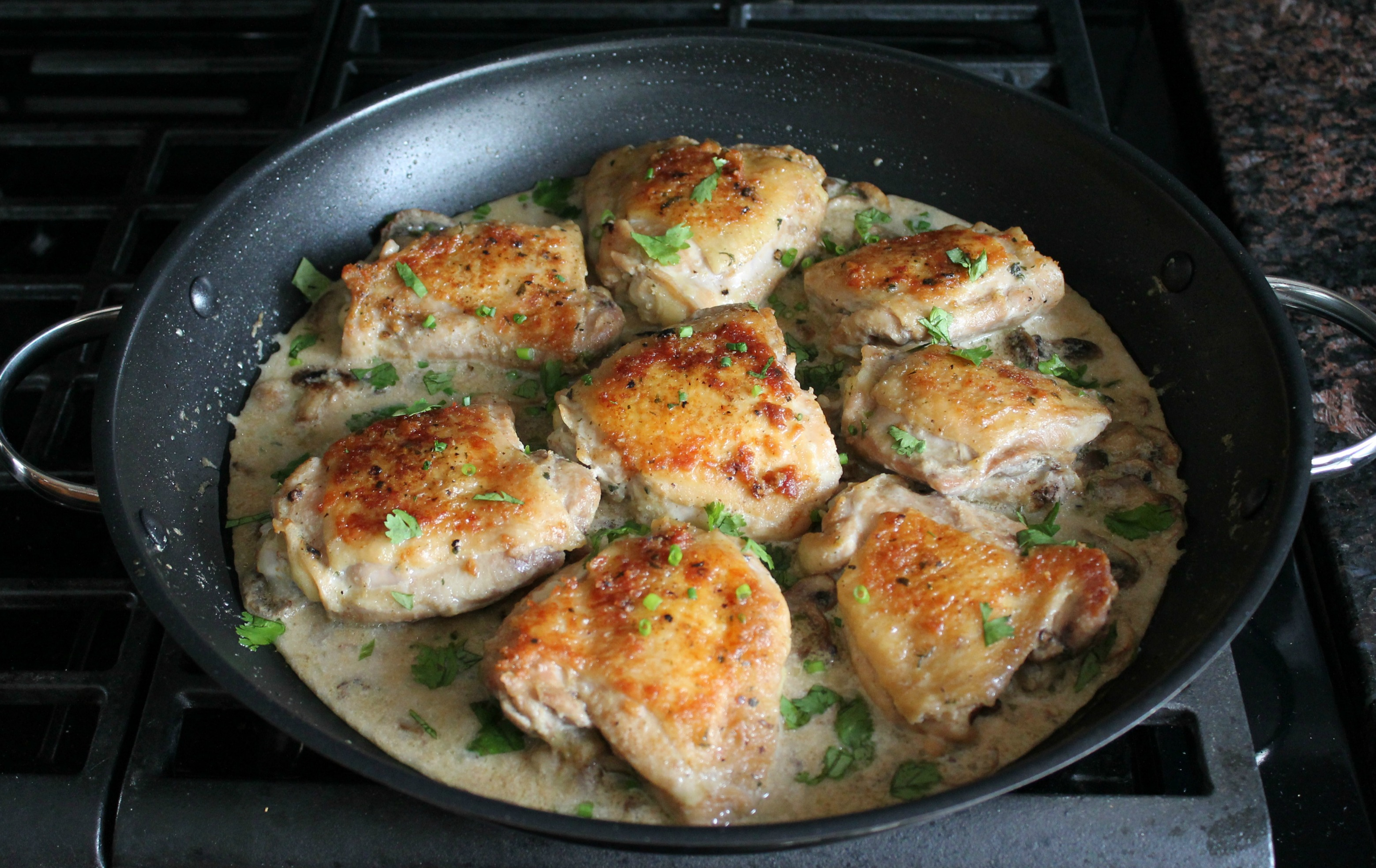 Classic Supper: Pan Fried Chicken Legs |Pan Cooked Chicken