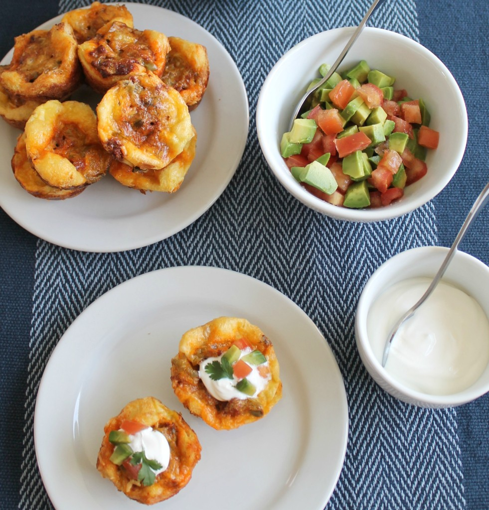 Mini Breakfast Muffins with Chorizo and Nopales 10
