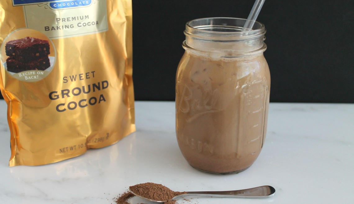 2 minute iced mocha coffee plus a giveaway!!