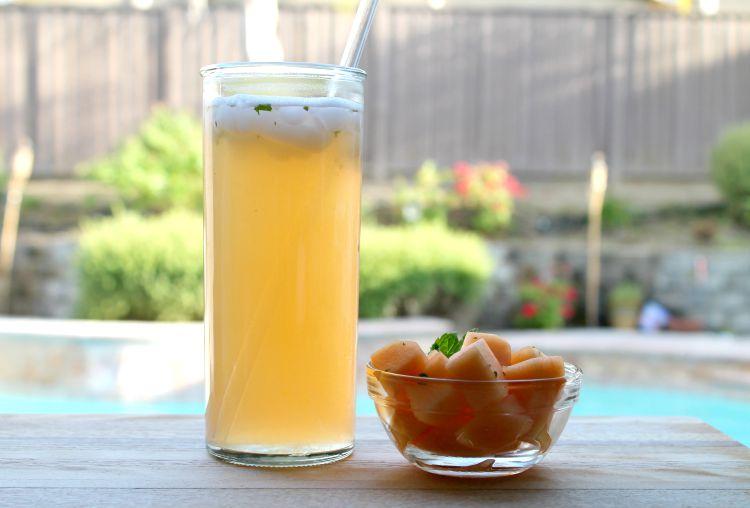 Agua de Melón | Cantaloupe Agua Fresca