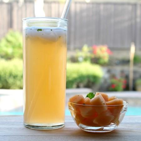 Cantaloupe agua fresca 1.4