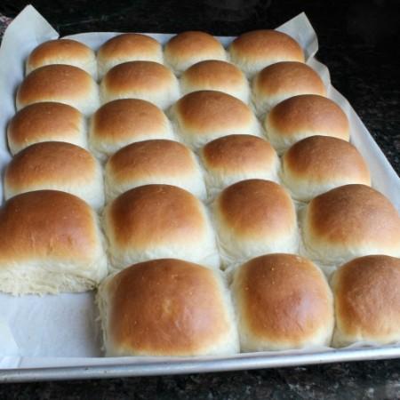 Homemade Butter Rolls 12