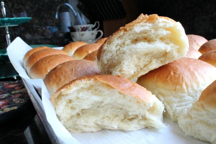 Homemade Butter Rolls 13