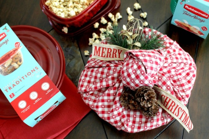 Candied Pecan and Sea Salt Popcorn Holiday Gift Tutorial