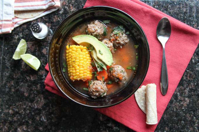Caldo de Albondigas | Meatball Soup