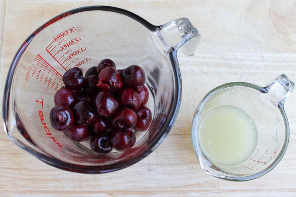 Cherry Lime Yogurt Paletas