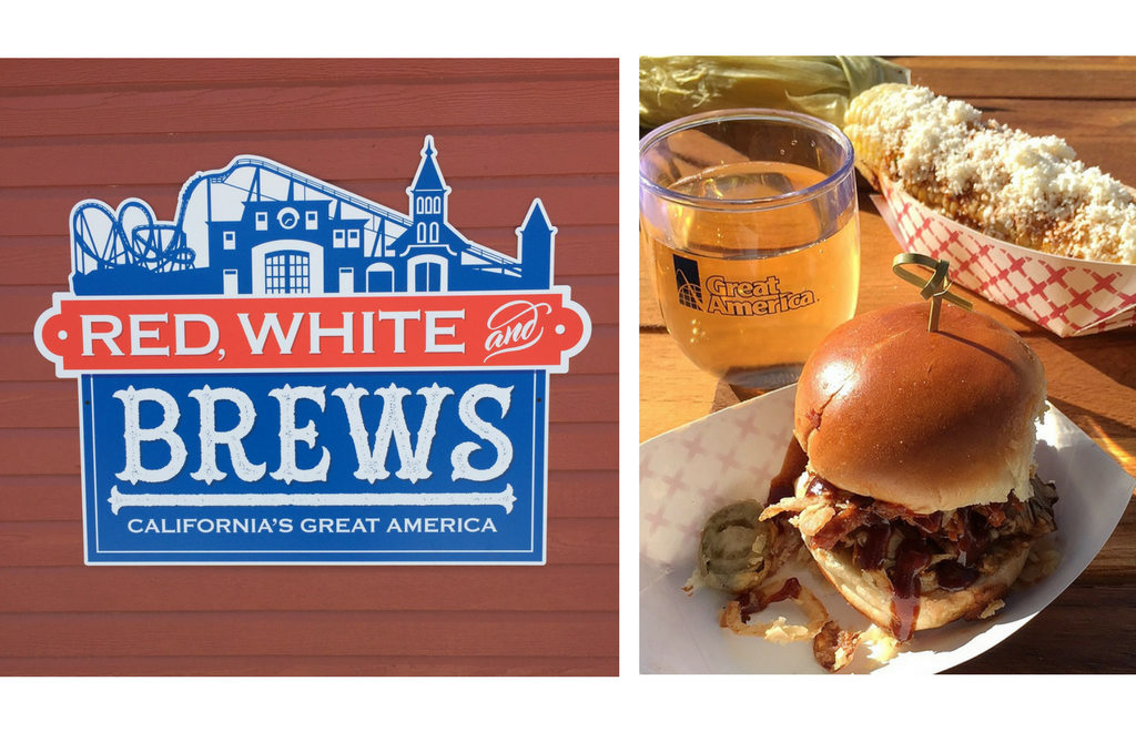 Great America's Red, White and Brews Festival