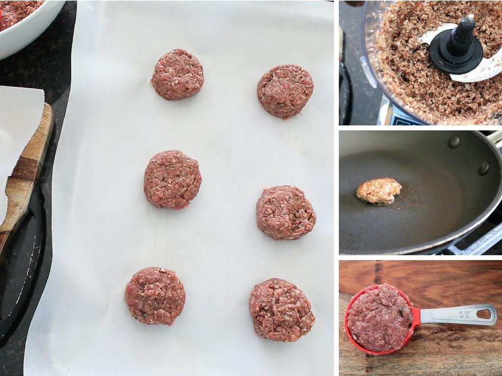 Make-Ahead Mushroom and Beef Hamburger Patties with Premier Mushrooms.