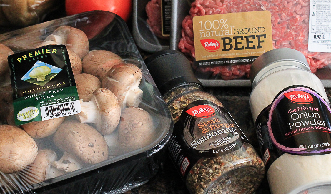 Make-Ahead Mushroom and Beef Hamburger Patties with Premier Mushrooms.